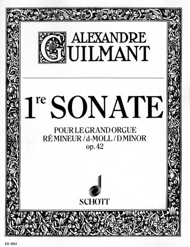 Sonate N° 1 Ré Mineur Opus 42 - Alexandre Guilmant - laflutedepan.com