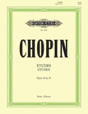 Etudes Opus 10 et Opus 25 + 3 Etudes CHOPIN Partition laflutedepan