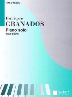 Piano Solo GRANADOS Partition Piano - laflutedepan