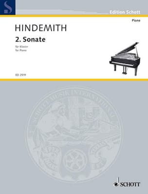 Sonate N° 2 (1936) HINDEMITH Partition Piano - laflutedepan