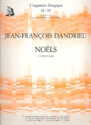 Noëls Livre 3 - DANDRIEU - Partition - Orgue - laflutedepan.com