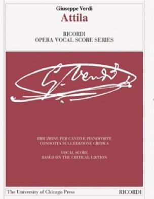 Attila. Edition critique - VERDI - Partition - laflutedepan.com