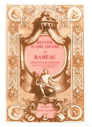 Recueil D'airs Volume 1. Soprano - RAMEAU - laflutedepan.com