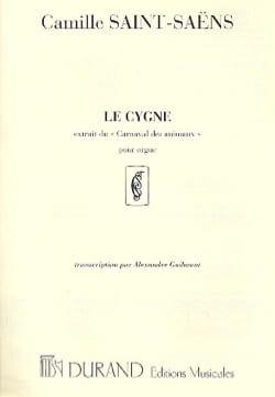 Le Cygne. Orgue. SAINT-SAËNS Partition Orgue - laflutedepan