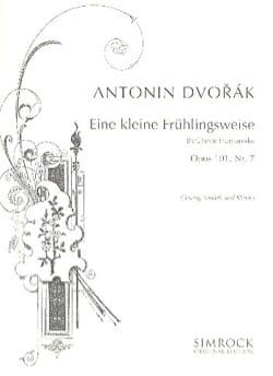 Eine Kleine Frühlingsweise Op. 101-7. Voix Moyenne DVORAK laflutedepan