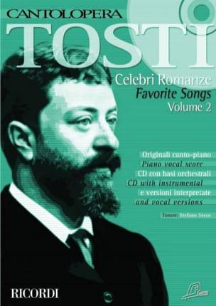 Celebri Romanze Volume 2 Francesco Paolo Tosti Partition laflutedepan