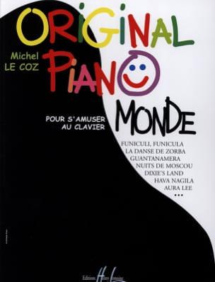 Original Piano Monde Michel LE COZ Partition Piano - laflutedepan