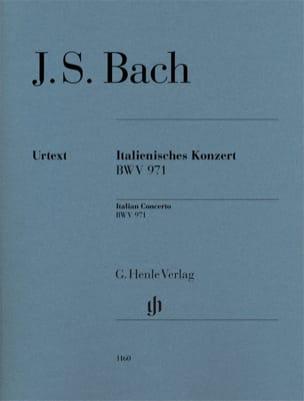 Concerto italien BWV 971 BACH Partition Piano - laflutedepan