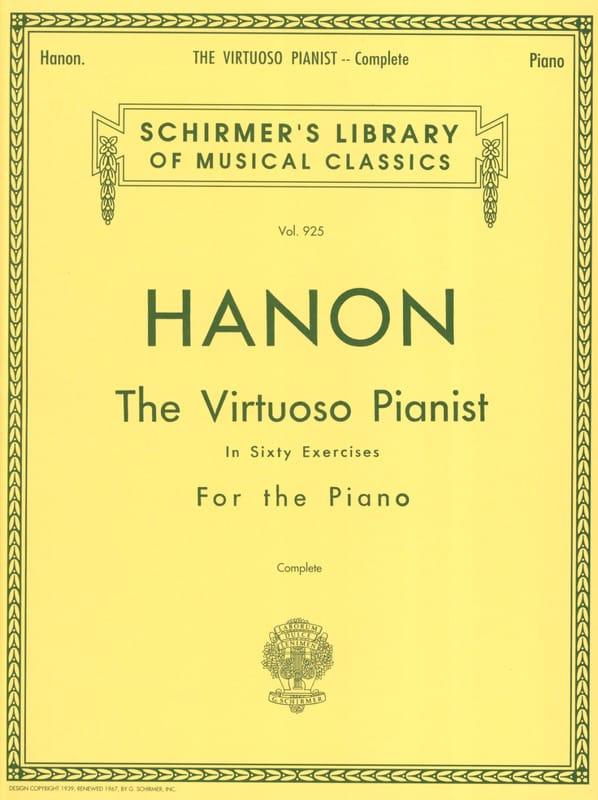Le Pianiste Virtuose - HANON - Partition - Piano - laflutedepan.com