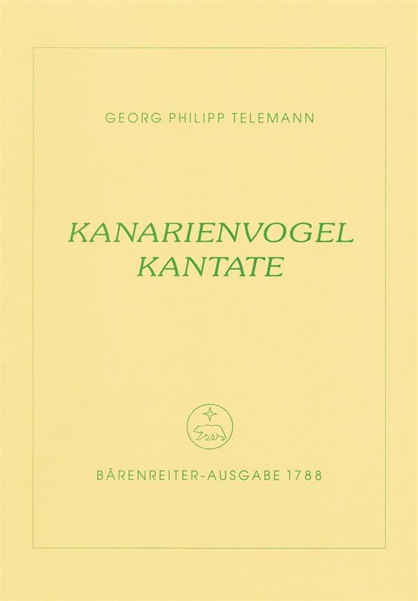 Kanarienvogel-Kantate. Trauermusik eines kunsterfahrenen Canarienvogels - laflutedepan.com