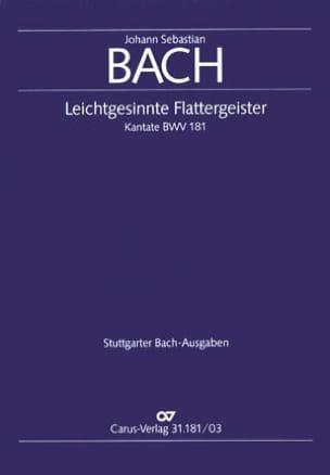 Cantate 181 Leichtgesinnte Flattergeister Johann S Bach laflutedepan