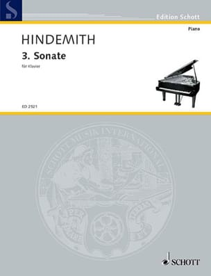 Sonate N°3 HINDEMITH Partition Piano - laflutedepan