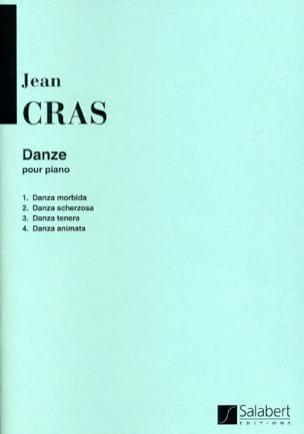 Danze Jean Cras Partition Piano - laflutedepan