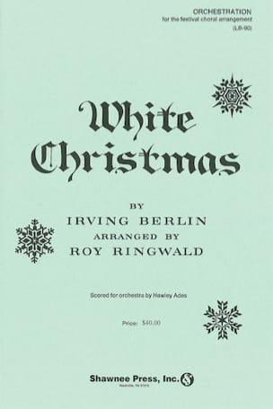 White Christmas - Irving Berlin - Partition - Chœur - laflutedepan.com