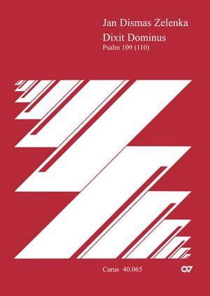 Dixit Dominus. Conducteur - ZELENKA - Partition - laflutedepan.com