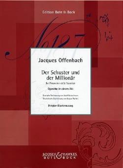 Le Financier et le Savetier OFFENBACH Partition Opéras - laflutedepan