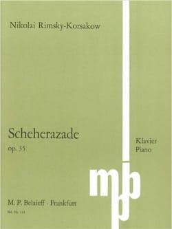 Scheherazade Op. 35 - RIMSKY-KORSAKOV - Partition - laflutedepan.com