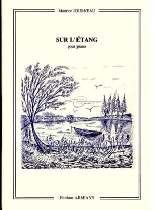 Sur L'étang Op. 18-1 Maurice Journeau Partition Piano - laflutedepan