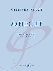 Architecture Graciane Finzi Partition Orgue - laflutedepan