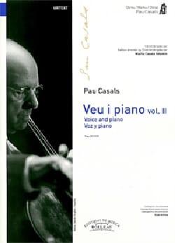Voz y piano. Volume 2 - Pablo Casals - Partition - laflutedepan.com