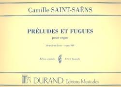 6 Préludes et Fugues - Opus 109 - Volume 2 SAINT-SAËNS laflutedepan