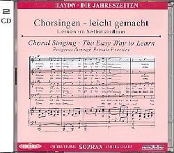 Les Saisons Hob XXI-3 (21-3) CD Soprano CHOEUR HAYDN laflutedepan
