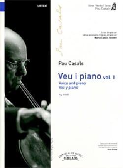 Voz y piano. Volume 1 Pablo Casals Partition Mélodies - laflutedepan
