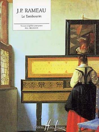 Tambourin - RAMEAU - Partition - Piano - laflutedepan.com