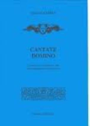 Cantate Domino - CAMPRA - Partition - Chœur - laflutedepan.com