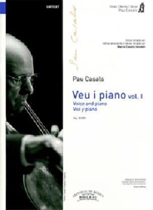 Voz y piano. Volume 1 - Pablo Casals - Partition - laflutedepan.com