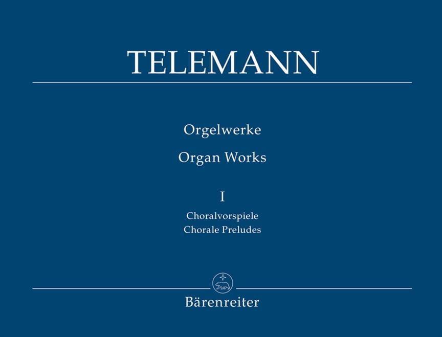 Oeuvre D'orgue Volume 1 - TELEMANN - Partition - laflutedepan.com