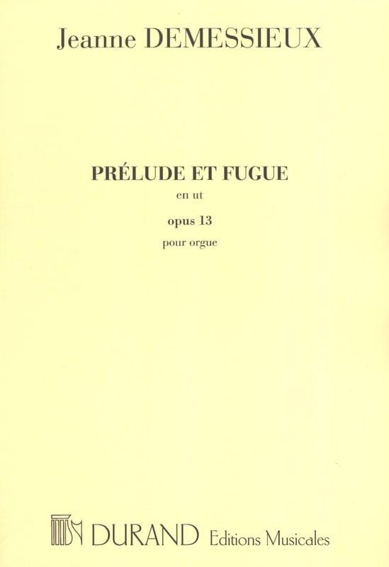 Prélude et Fugue en Ut Majeur Op. 13 - laflutedepan.com