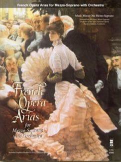 French Arias For Mezzo-Soprano - Partition - laflutedepan.com
