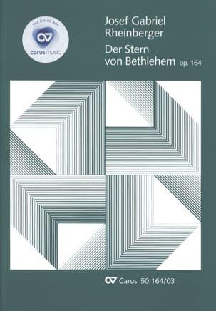 Der Stern Von Bethlehem Opus 164 RHEINBERGER Partition laflutedepan
