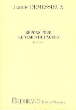 Répons Pour le Temps de Pâques Jeanne Demessieux laflutedepan
