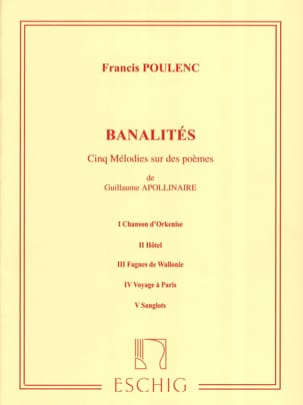 Francis Poulenc - small talk - Partition - di-arezzo.com