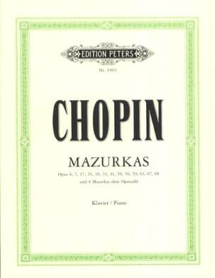 Mazurkas CHOPIN Partition Piano - laflutedepan