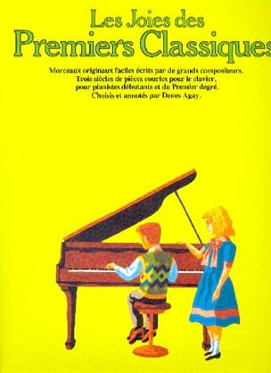 Les Joies des Premiers Classiques Partition Piano - laflutedepan
