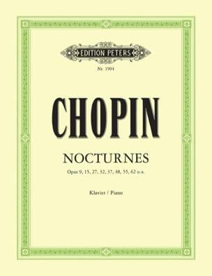 21 Nocturnes CHOPIN Partition Piano - laflutedepan