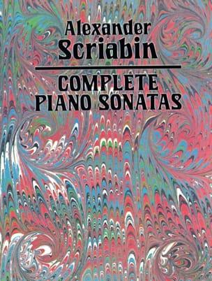 Intégrale des Sonates SCRIABINE Partition Piano - laflutedepan