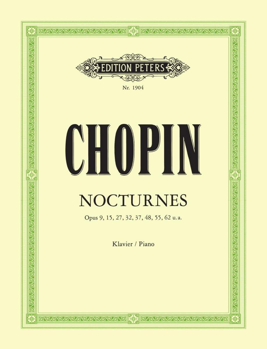 21 Nocturnes - CHOPIN - Partition - Piano - laflutedepan.com