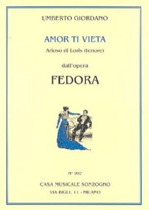Amor Ti Vieta Di Non Amar. Fedora - laflutedepan.com
