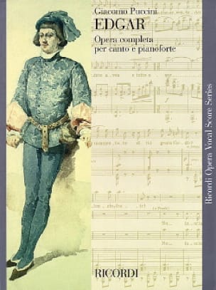 Edgar - PUCCINI - Partition - Opéras - laflutedepan.com