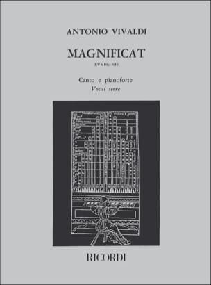 VIVALDI - Magnificat - Partition - di-arezzo.com