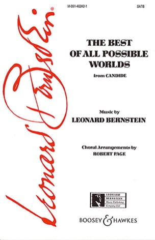 The Best Of All Possible Worlds BERNSTEIN Partition laflutedepan