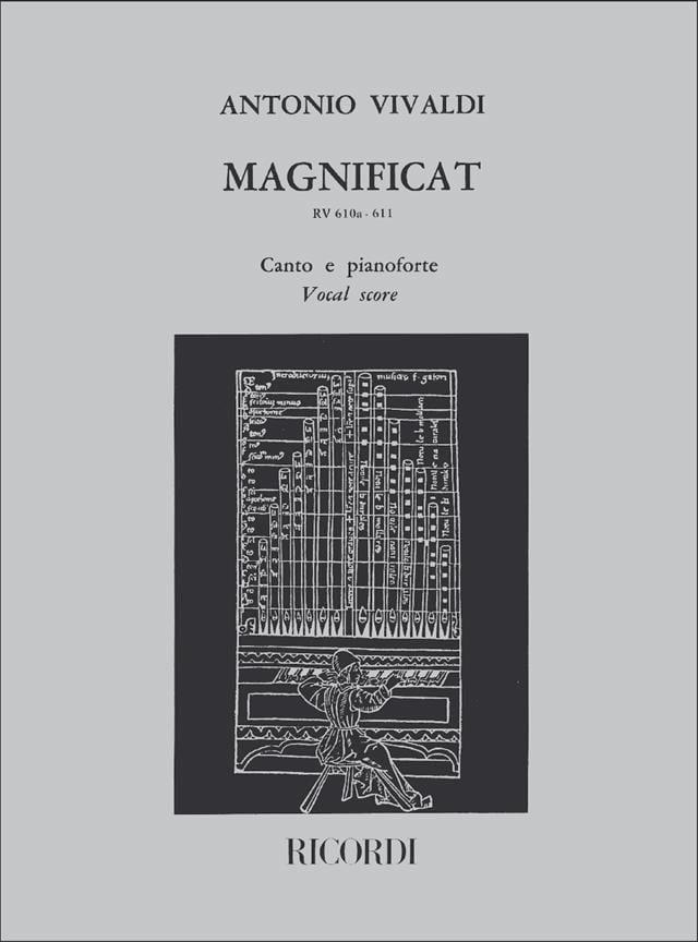 Magnificat - VIVALDI - Partition - Chœur - laflutedepan.com