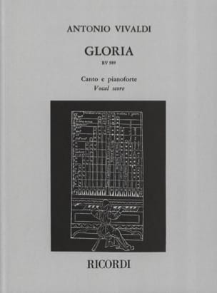 VIVALDI - Gloria - Partition - di-arezzo.com