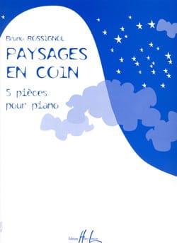 Paysages En Coin Bruno Rossignol Partition Piano - laflutedepan