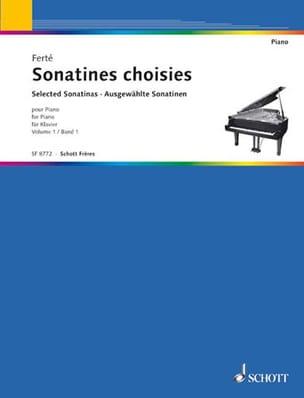 Sonatines Classiques Volume 1 Armand Ferté Partition laflutedepan