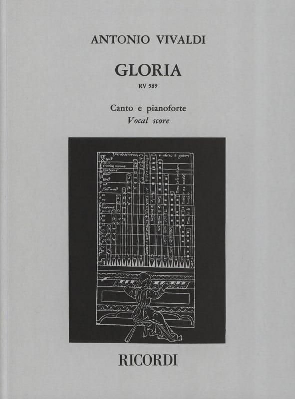 Gloria - VIVALDI - Partition - Chœur - laflutedepan.com